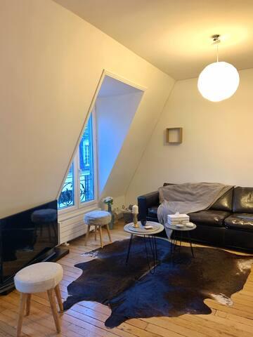 Joli appartement au cœur de paris.