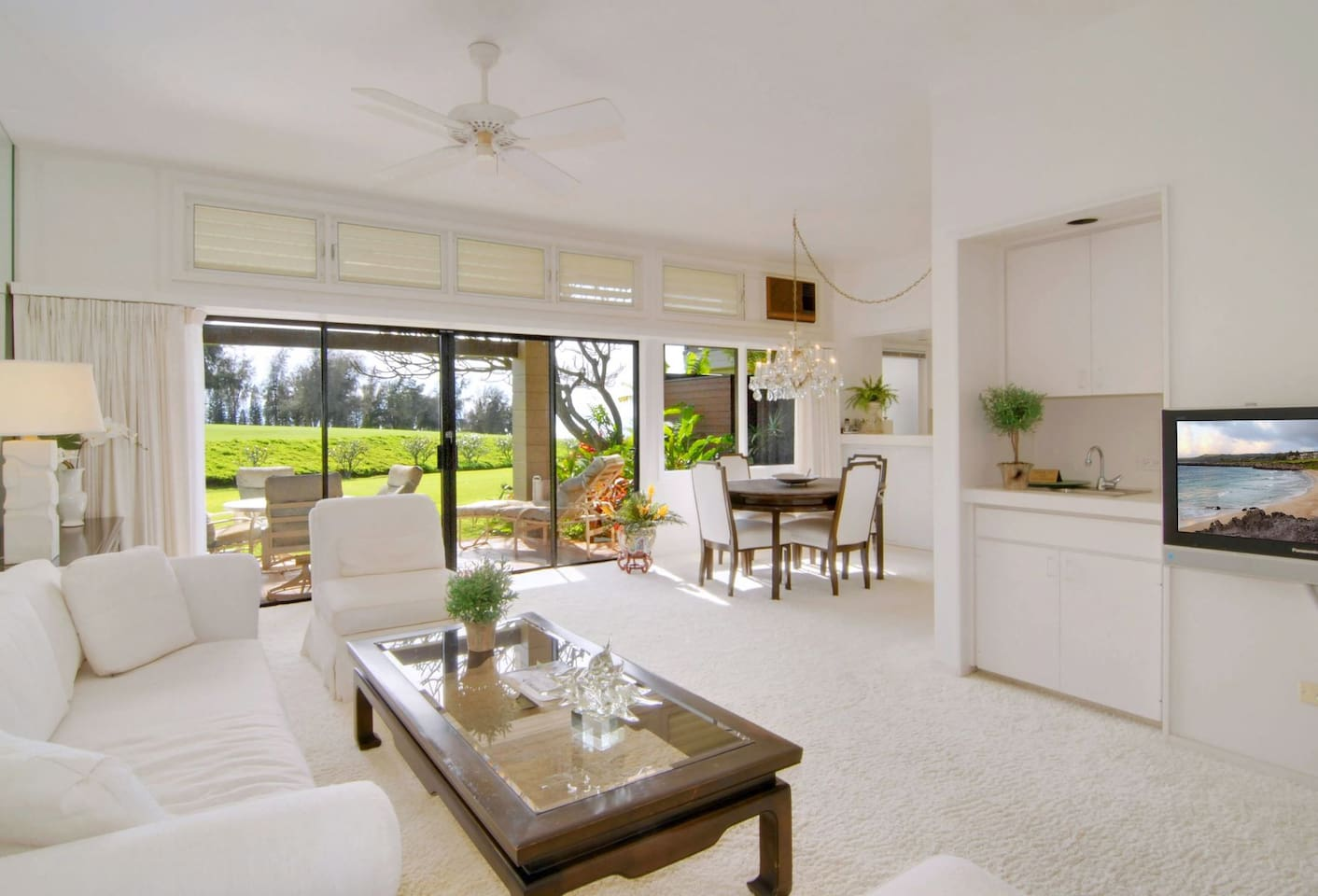 Peace and quiet are yours in this serene fairway villa
