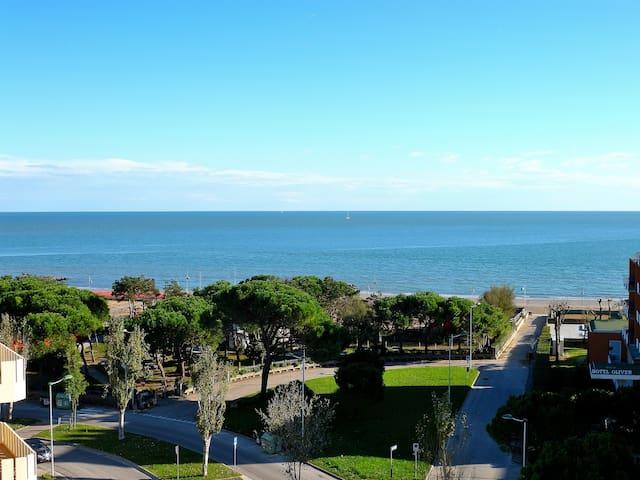 Attico con magnifica vista mare - Porto Santa Margherita - Casa
