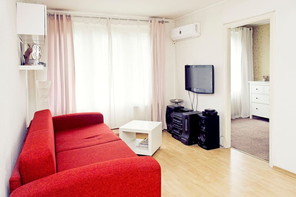 Quiet 2-rooms apartment, south