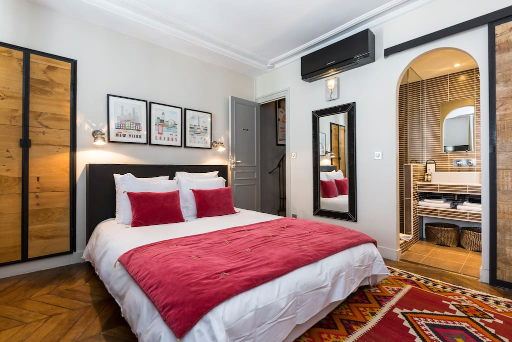 Guest house op ra chambre jazz chambres d 39 h tes for Chambre bb paris