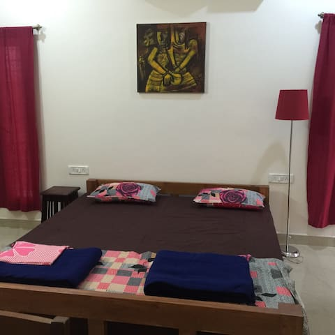 2View the Aurovile forest and  sea. - Bommayapalayam - Bed & Breakfast