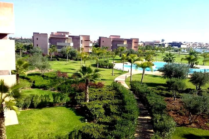 Apartment PRESTIGIA SWIMMING POOL GOLF ATLAS VIEW