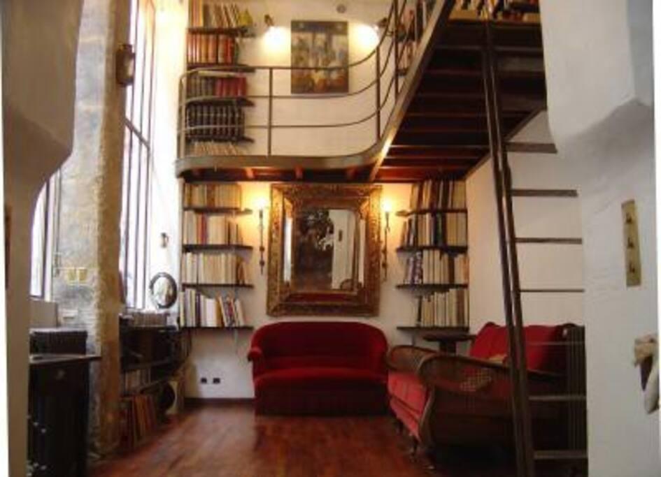 Vintage art loft with character lofts for rent in paris le de france f - Colocation loft paris ...