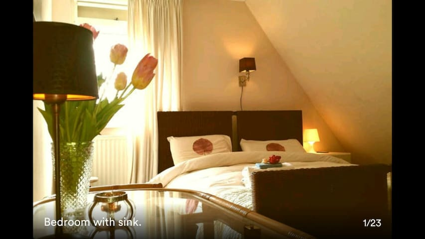 country house surrounded by nature2 - Katwijk - Bed & Breakfast