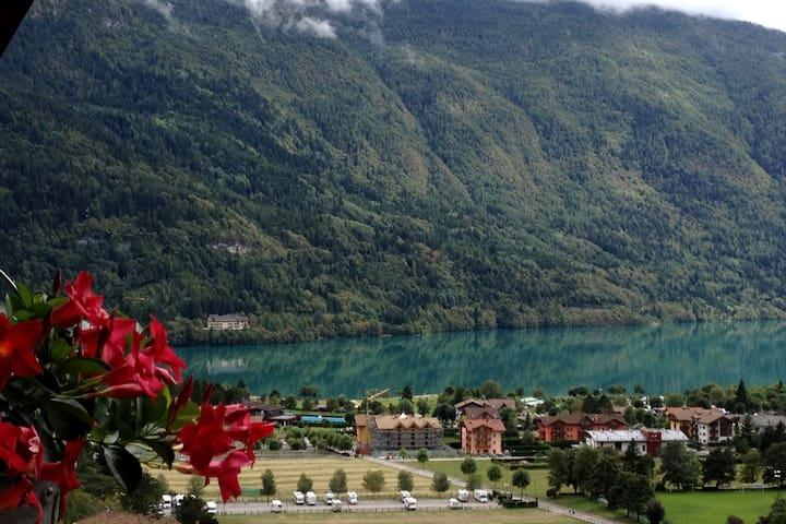 Trilocale con vista lago di Molveno - Molveno - Apartment