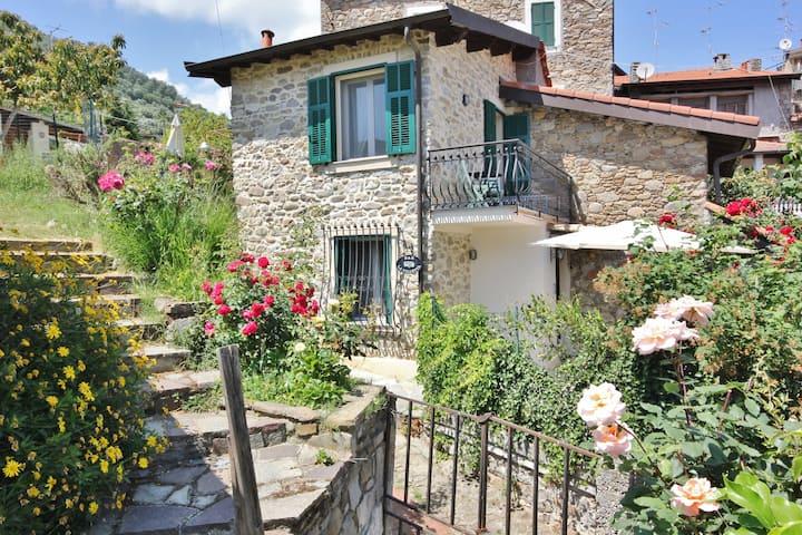B&B la Villetta, stone house.