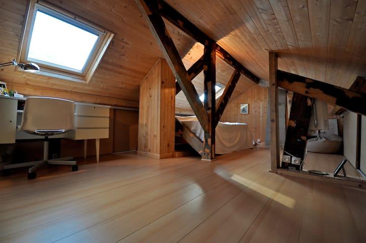 Chambre cosy combles Neoma et fac - Reims - Dom