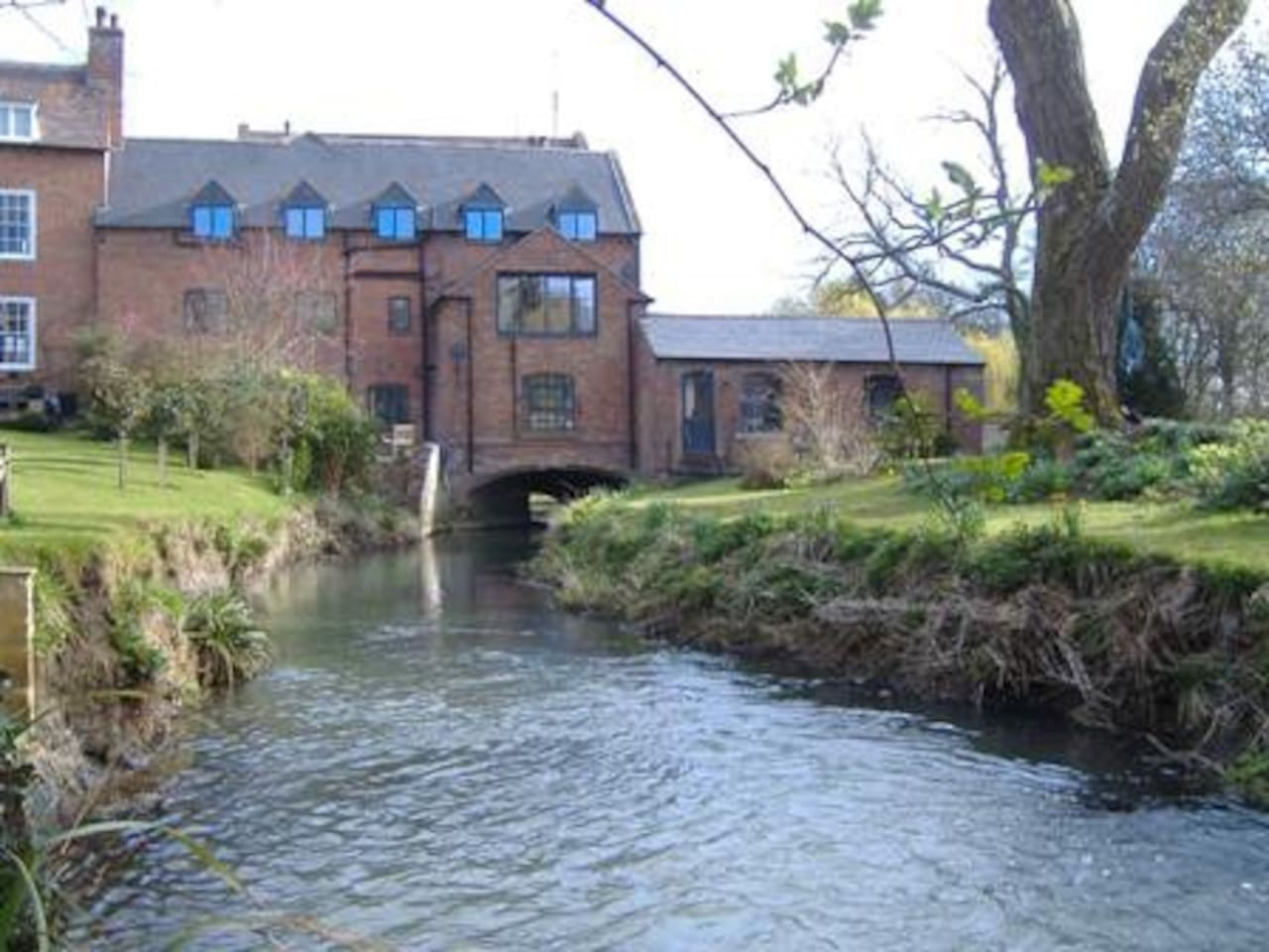 The Mill from the river