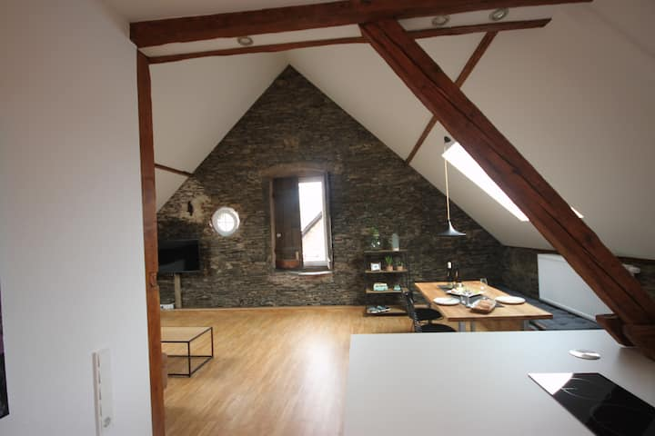 moderne neu renovierte DG Wohnung - WOLKENTURM-