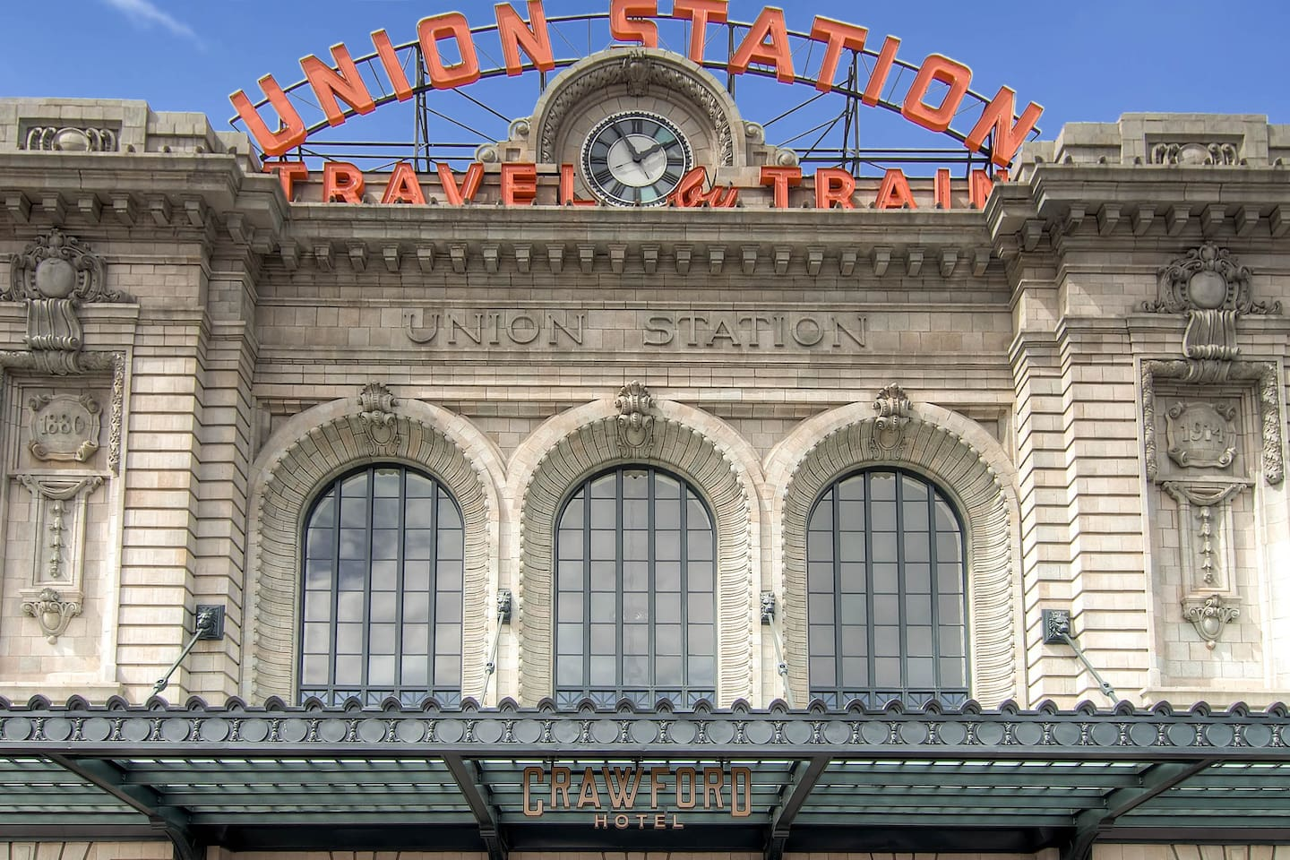 Union Station Right Across the Street