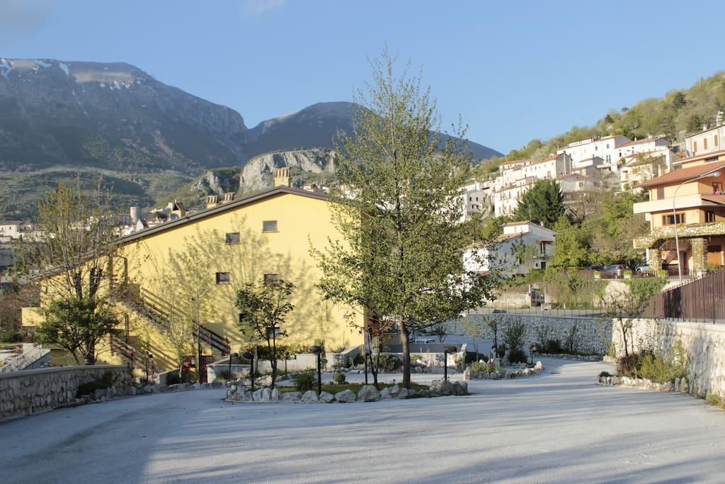 Residence Orto di Venanzio  - Ingresso a monte