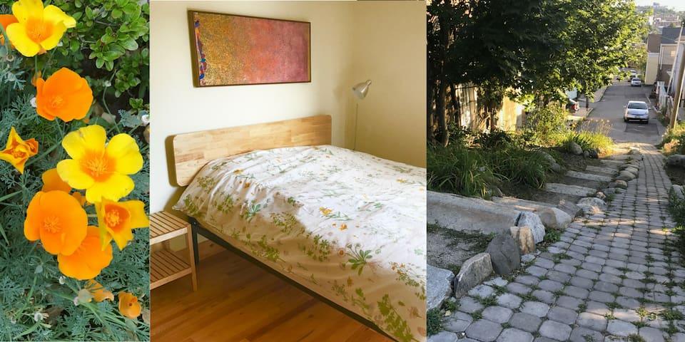 Bright and cozy Munjoy Hill neighborhood apartment