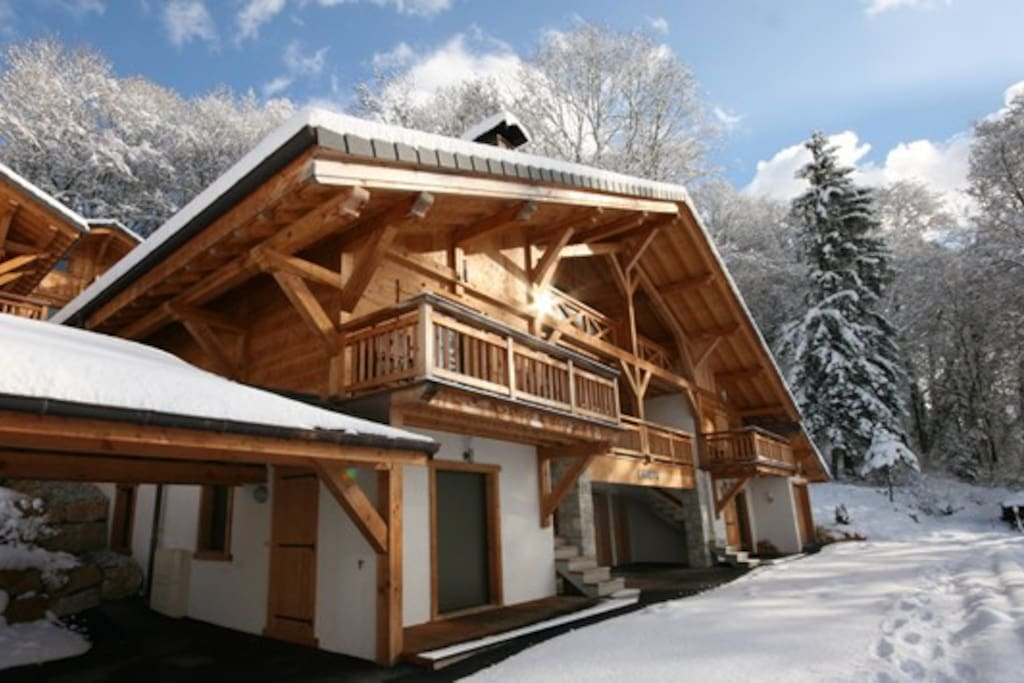 Available in the winter for catered skiing holidays.
