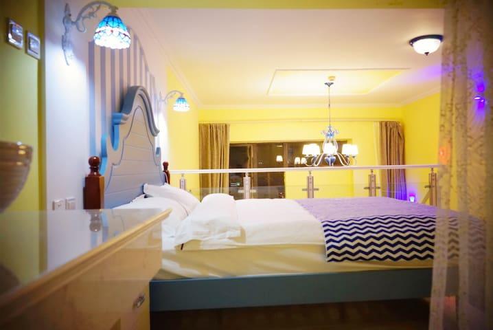 城市花园复式酒店(阳光地中海风情复式主题房) - 大理白族自治州 - Condominium