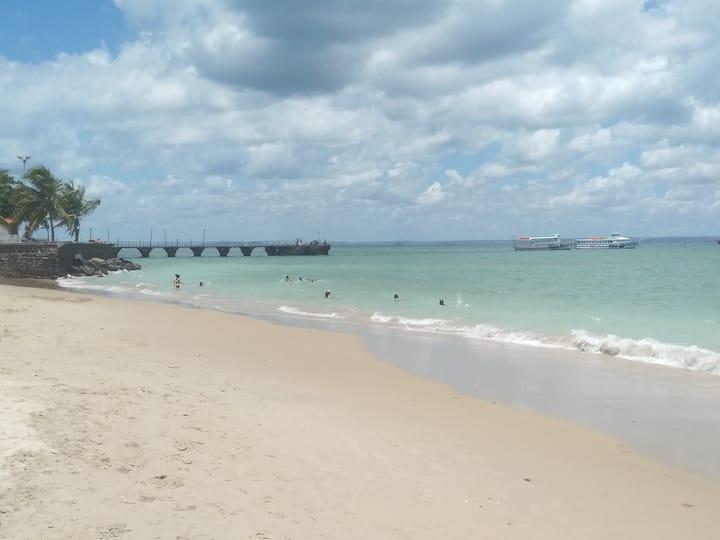 Quartos em Mar Grande, Ilha de Itaparica.