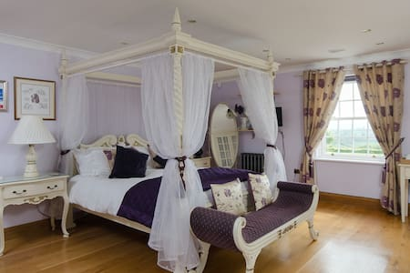 5 Star Gold Luxury 4-poster Room - Bruton - Bed & Breakfast
