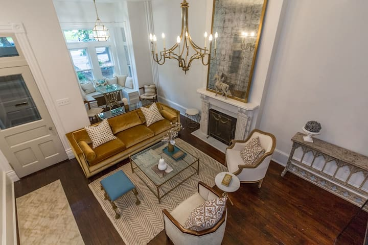 Lux 5BR Renovation: 2 Blks to Capitol & Metro
