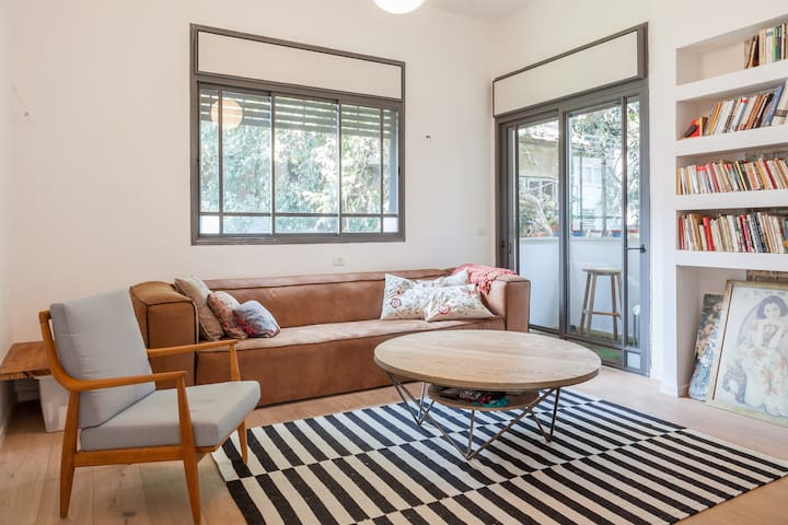 Spacious and lovely in the heart of Tel Aviv