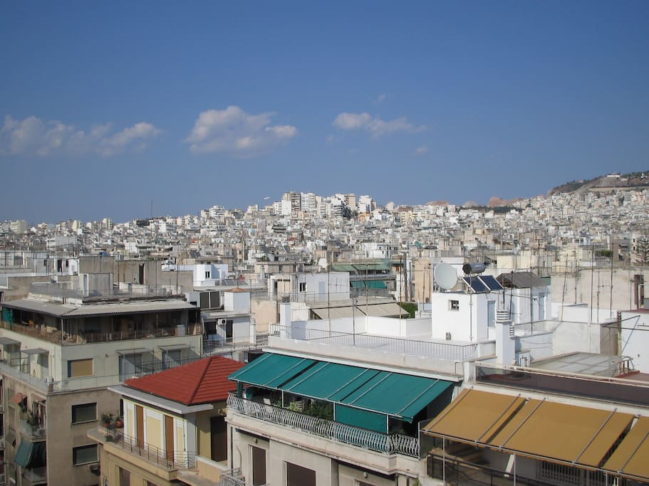 Rooftop View of Athens