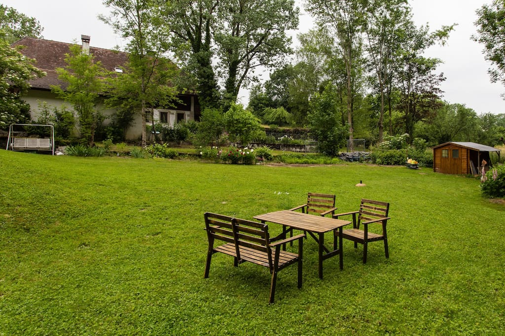 Espace jardin