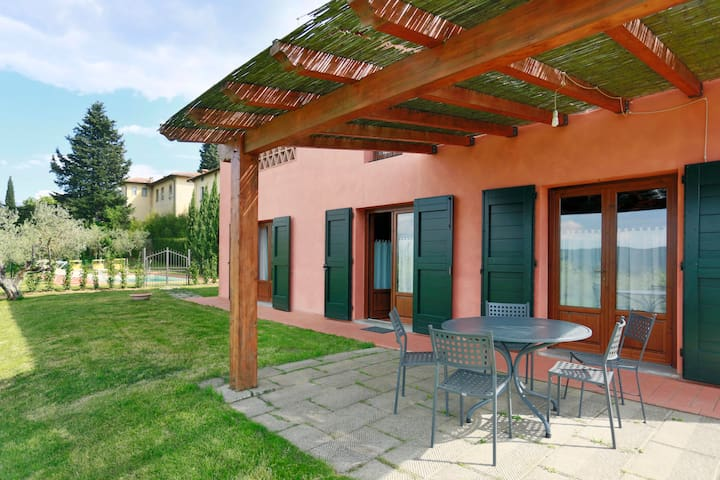 Villa Btwn Flor.-San Gimignano and Sienna AC WI-FI