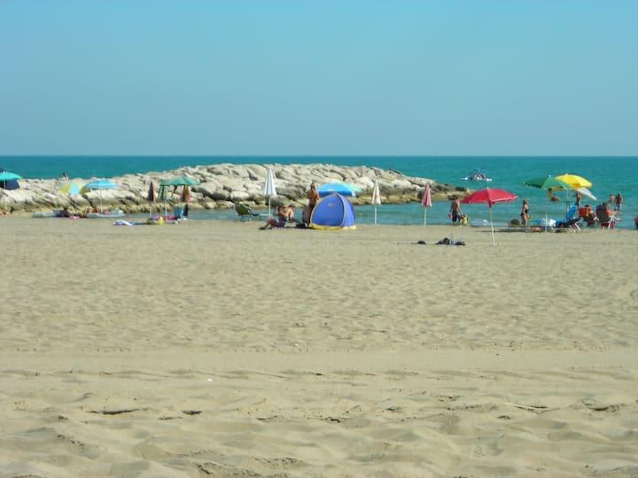holiday on the beach