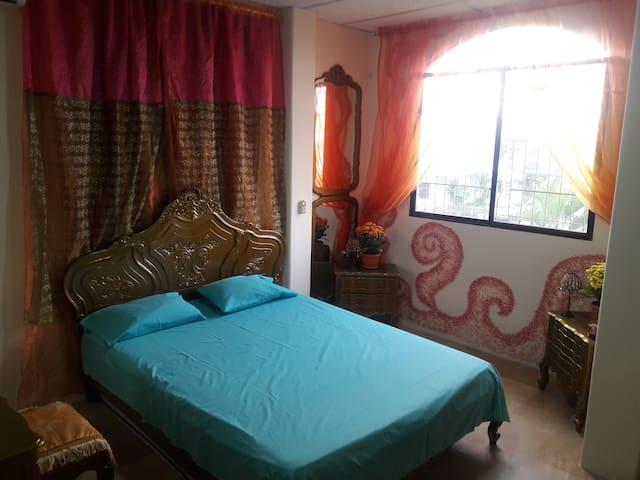 El hogar de Jaqueline habitación privada