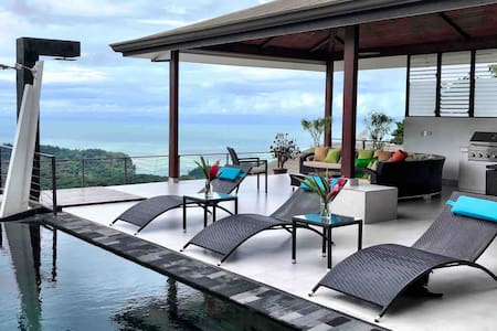 Contemporary Panoramic Ocean View Home
