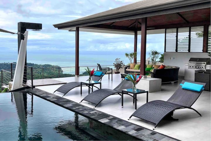 Private Modern home with Amazing Ocean views