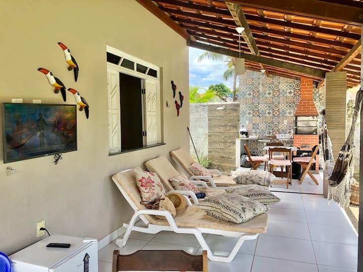 Excelente casa na ilha, entre barra do Gil e Penha