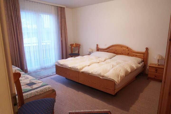Haus Alpina (Whg. Stoffel), (Flumserberg Tannenboden), 2.5-room apartment