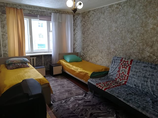 Квартира в шаговой доступности от  склона