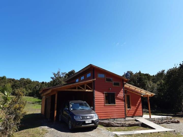 Cabaña Bosque Nativo Llicaldad (3 Avellano)