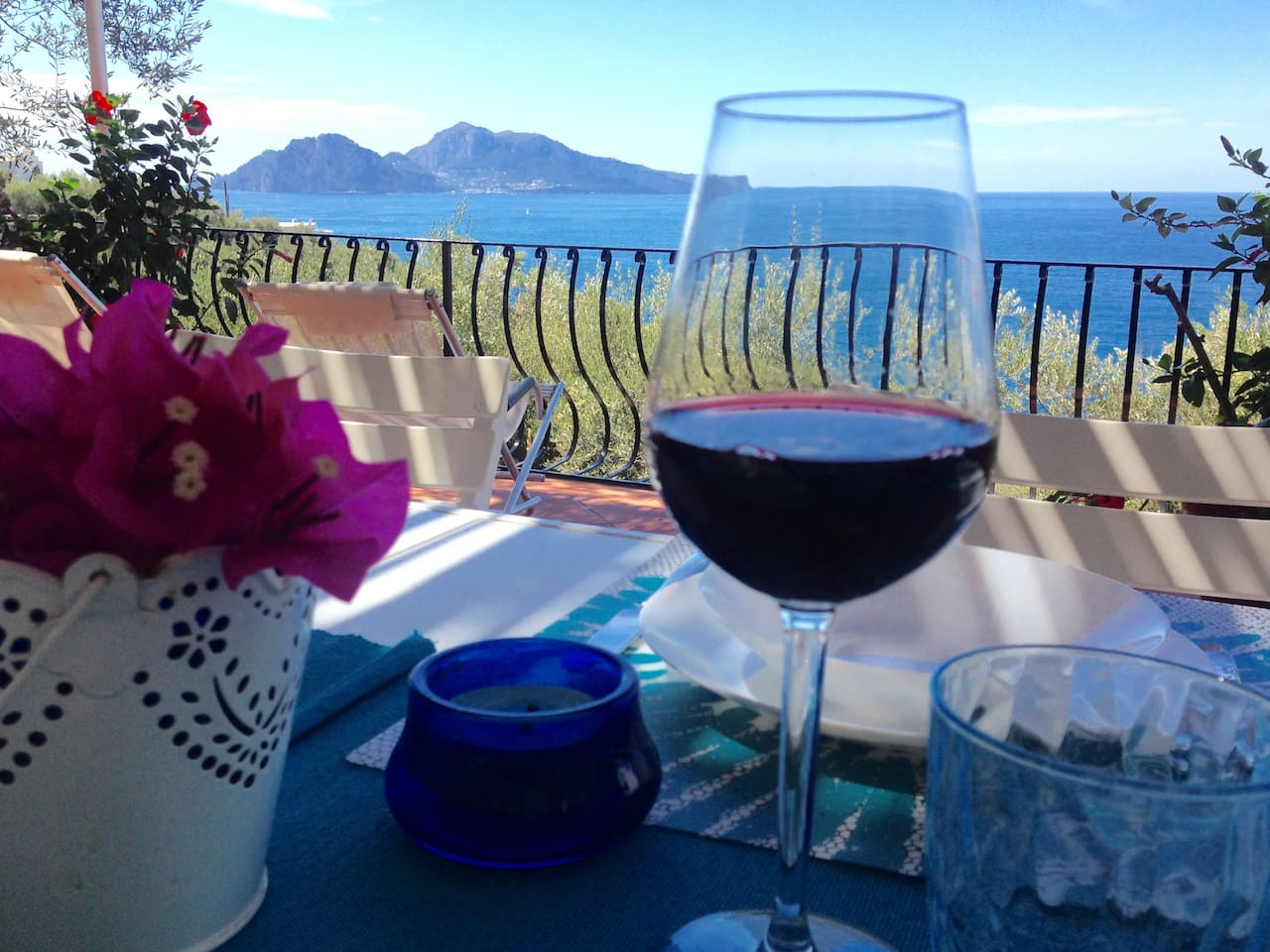 ...just seat with a glass of wine and enjoy an amazing view!