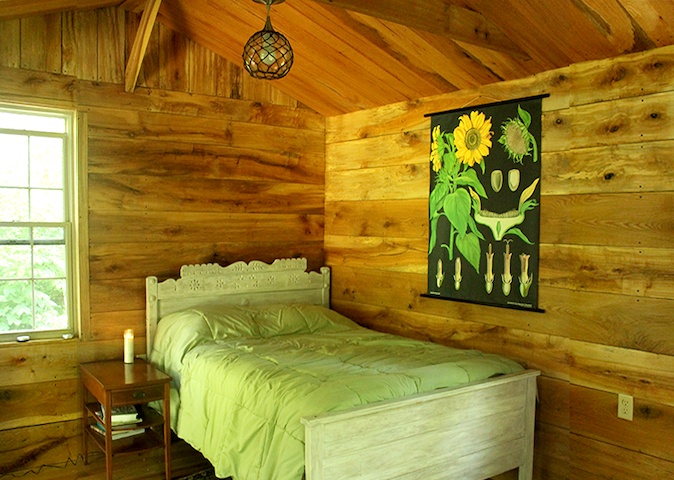 Secluded Cabin #1 Artist/Writer/Spiritual Retreat - Wellsburg - กระท่อม