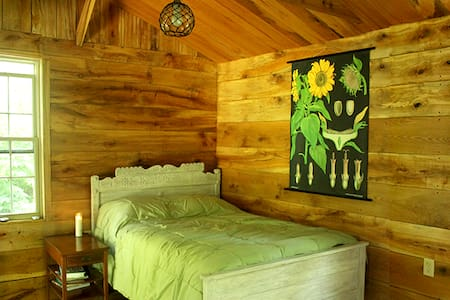 Secluded Cabin #1 Artist/Writer/Spiritual Retreat - Wellsburg - Sommerhus/hytte