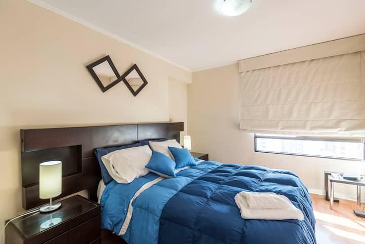 Modern & comfortable apartment in Miraflores ⭐️❤️✈