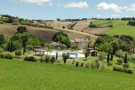 Relaxing Apartment in the countryside - Mondavio