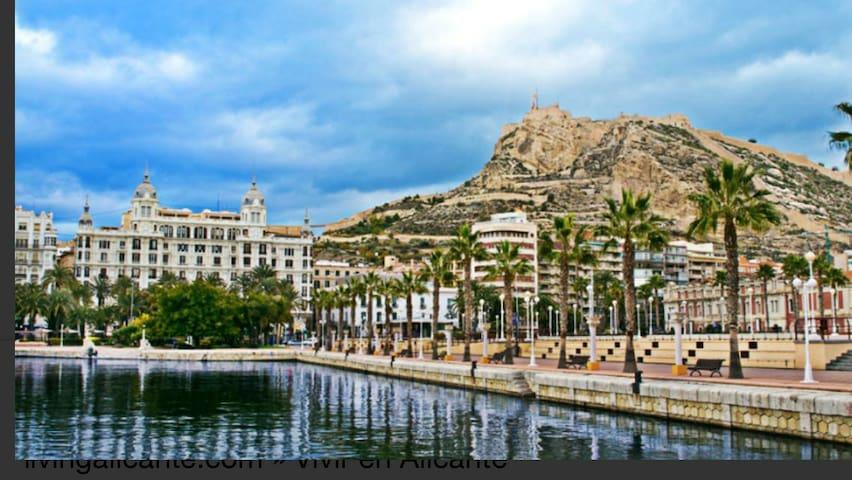 Apartamento en el centro de Alicante