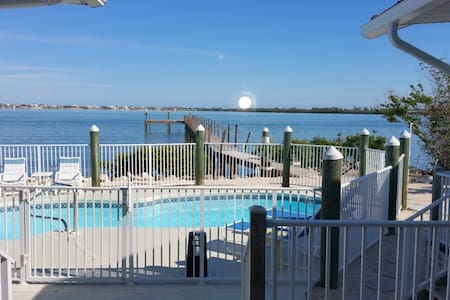 Waterfront Beach House with Dock & Heated Pool!