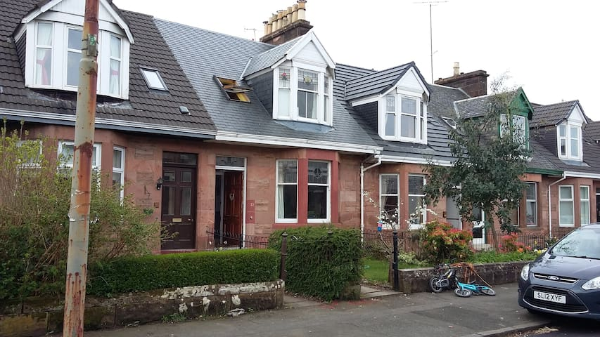 Beautiful family home, Southside, Glasgow - Glasgow - Dům