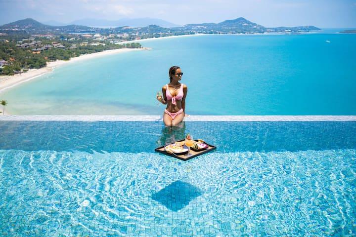 Villa ELLA | Sea Views-Pool-Privacy & Service