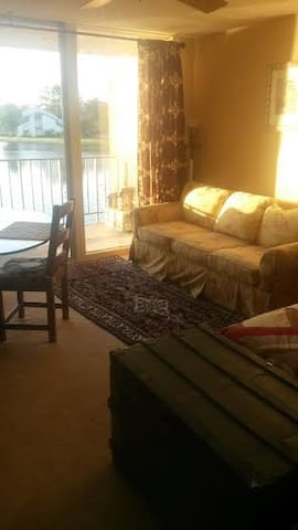 WATERFRONT 1+ BEDROOM CONDO - Montgomery - Daire