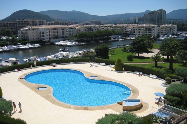 Petit 2p à 5 min des plages et 10min de Cannes - Mandelieu-la-Napoule