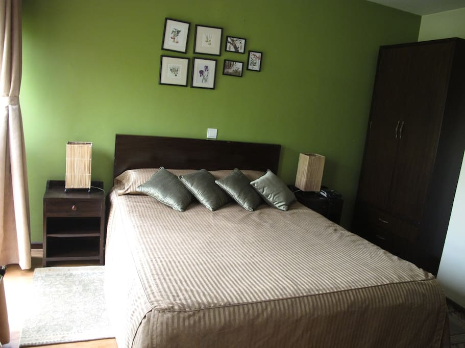 Beautifully decorated and cosy Pokhara room. All rooms have modern attached bathroom, air condition, high speed wireless internet access and high definition television.