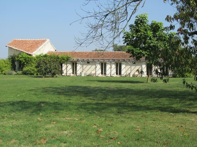 Gîte champêtre Le Scévolles 6 pers - Saires - Huis
