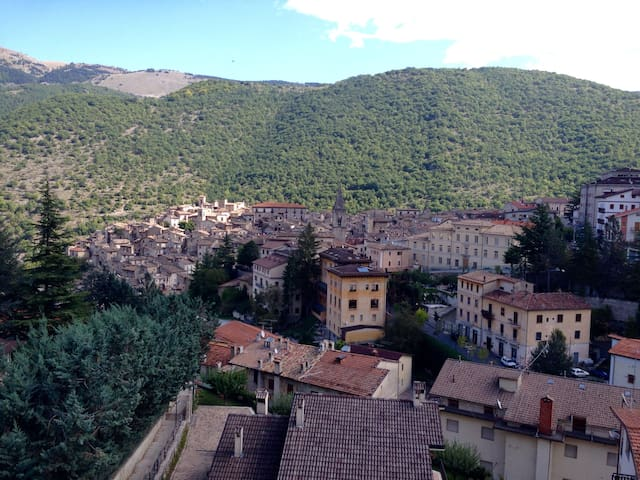 Mansarda panoramica su Scanno - Scanno - Appartement