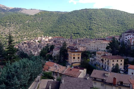 Mansarda panoramica su Scanno - Scanno