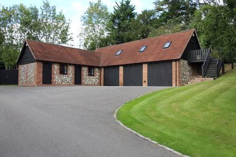Luksusowa stodoła między Marlow i Henley